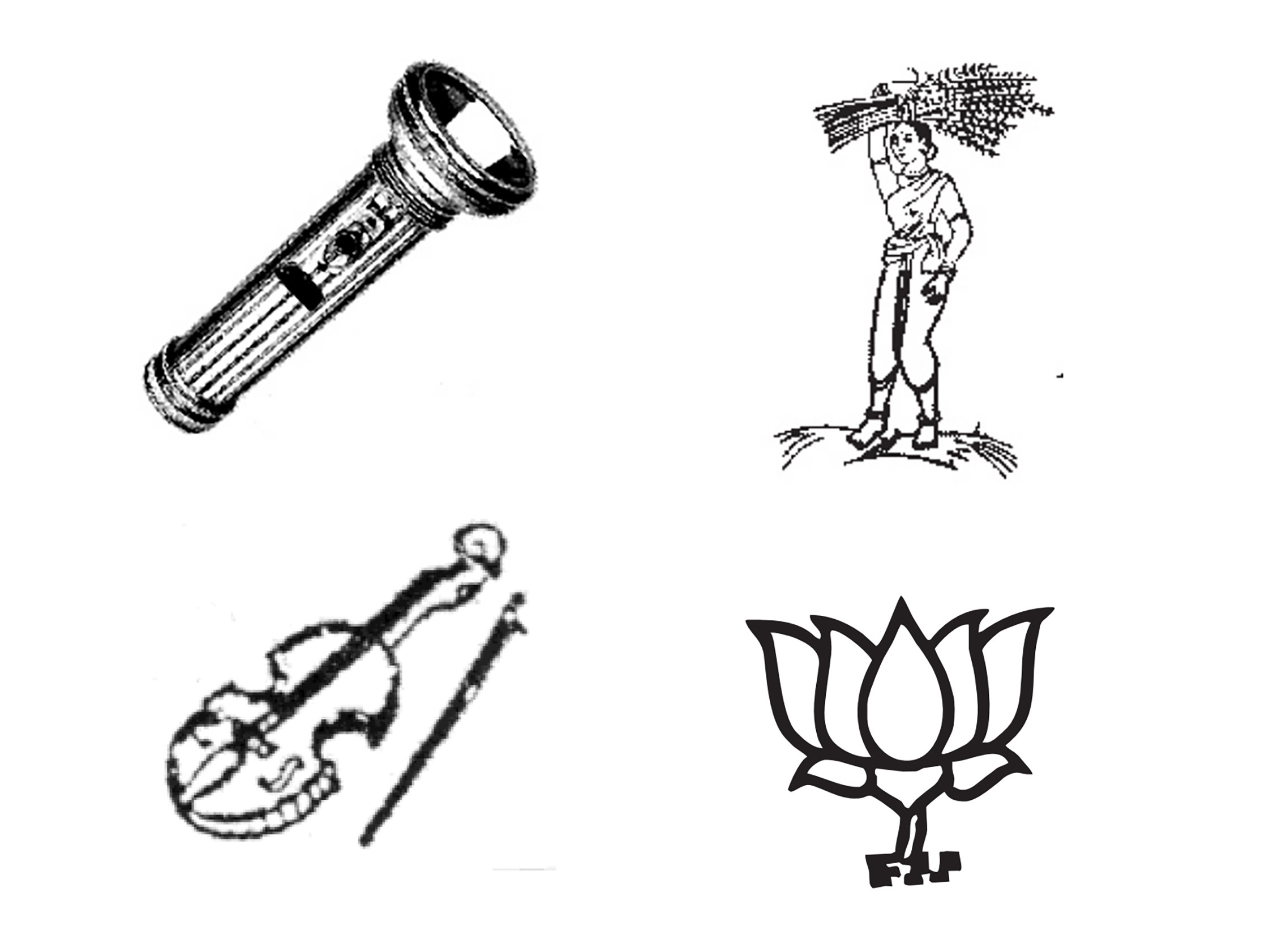 India S Ballot Has Some Really Offbeat Symbols For Its