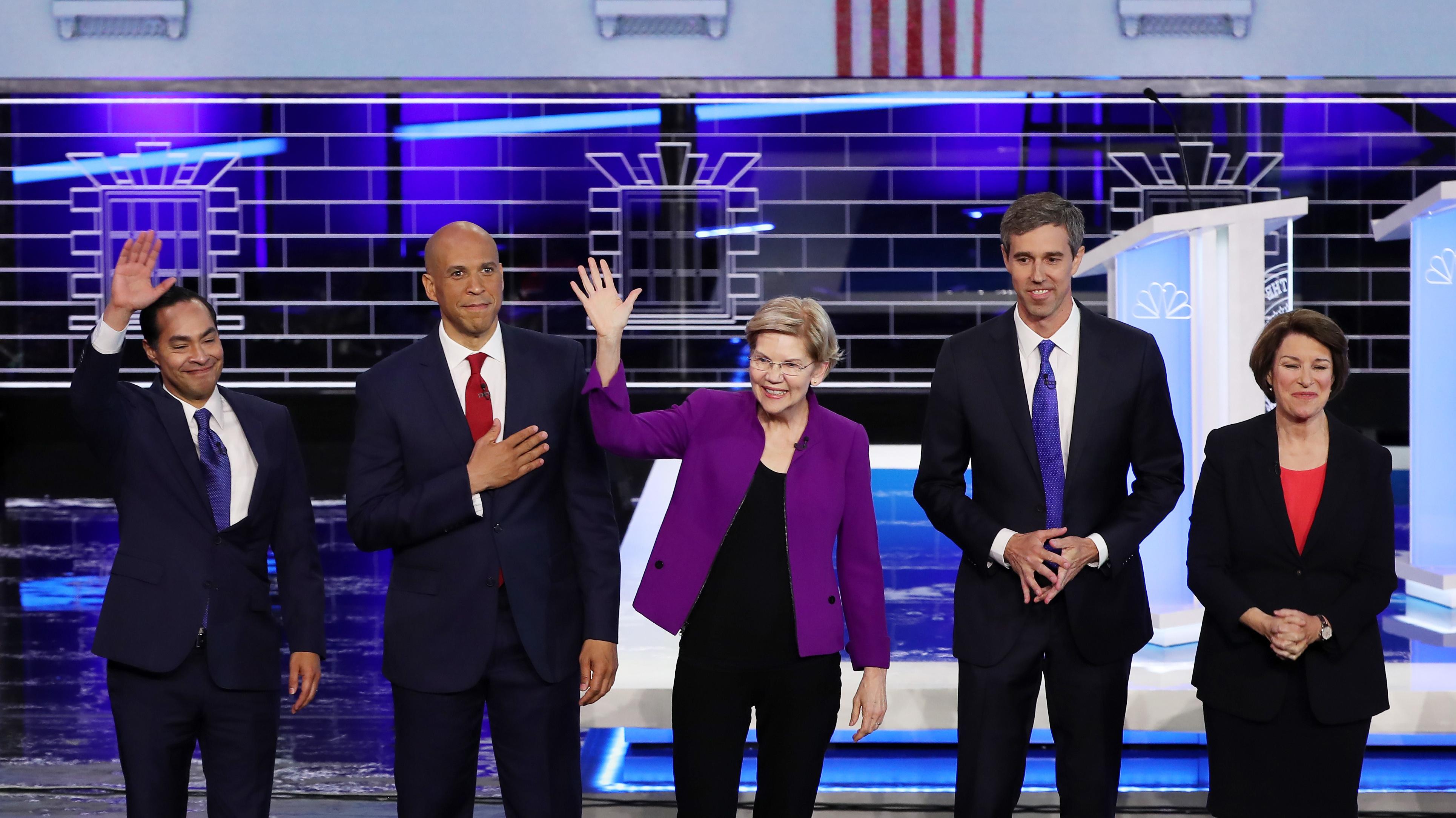 Democratic Debate Takeaways Elizabeth Warren Is
