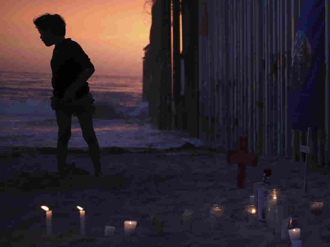 vigils held across border