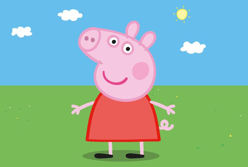 peppa pig drops my