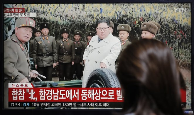 Image result for Kim Un theats USA with nuclear test as X-mas gift