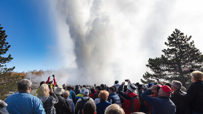 Steam On, Steamboat: The World's Tallest Active Geyser Has Another Record Year