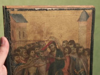 France Blocks Export Of Rare Medieval Painting Found In French Kitchen : NPR