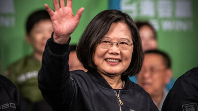 Rebuking China, Taiwan Votes To Reelect President Tsai Ing-wen