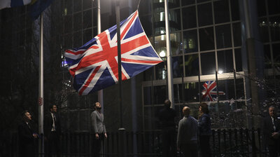 The Long, Uneasy Wait Is Over: Parties, Protests And Solemn Silence Greet Brexit