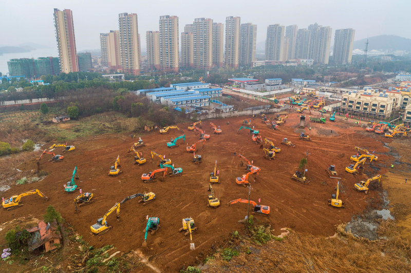 Coronavirus Triggers Hospital Building Boom In Wuhan, China ...