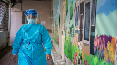 Coronavirus Fears Lead Nurses To Threaten Strike In Hong Kong If Borders Aren't Shut