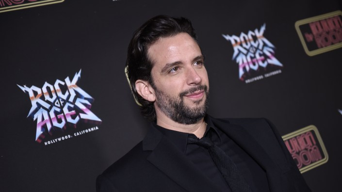 Nick Cordero, seen here in January at a premier in Hollywood, has emerged from his coma during a difficult fight with COVID-19, according to his wife.
