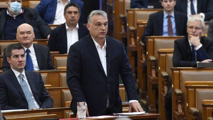 Hungarian Prime Minister Viktor Orban, shown here in Hungary