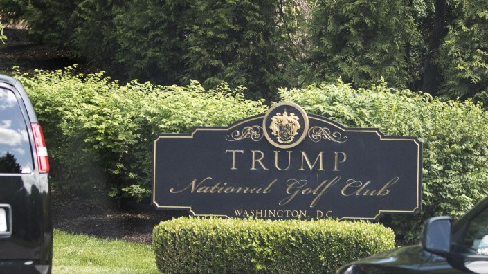 President Trump is visiting one of his golf course this weekend, his first apparent golf outing since declaring a state of emergency due to the coronavirus pandemic.