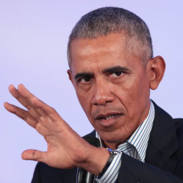 Former President Obama: 'Let's Not Excuse Violence ... Or Participate In It'