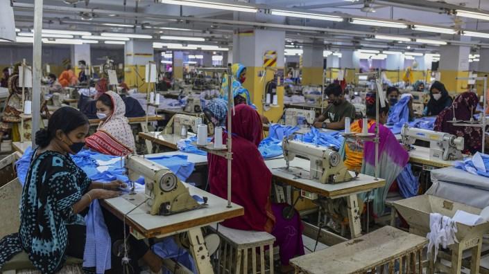 Garment workers were deemed essential employees during Bangladesh