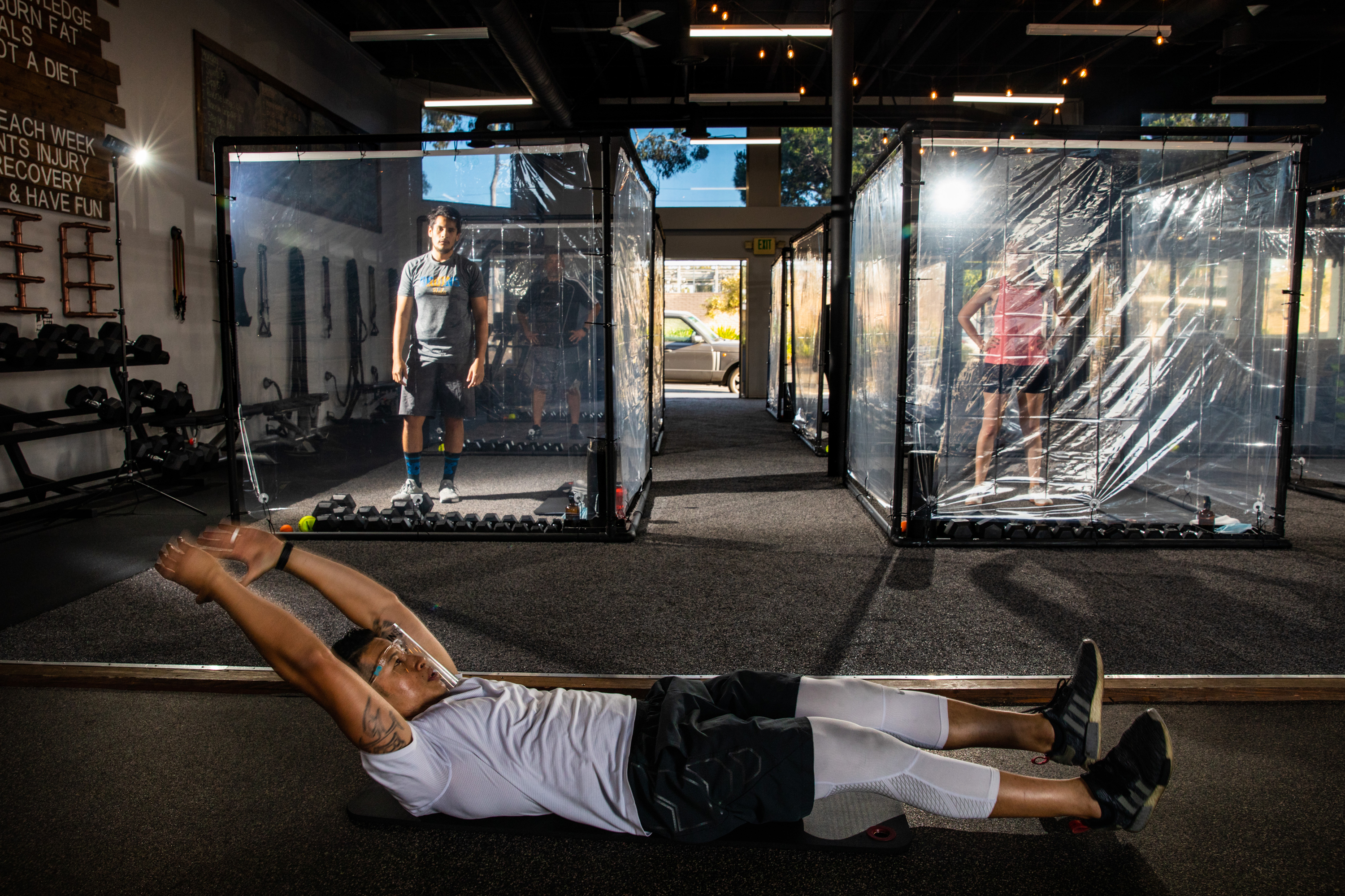 Are Gyms Safe Right Now What To Know About Covid 19 Risk While Working Out Shots Health News Npr
