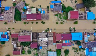 Nearly 4 Million Chinese Displaced or Evacuated from Country's Worst Flooding in Over 20 Years