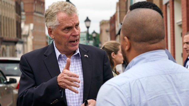 Former Virginia Gov. Terry McAuliffe, seen here on May 29, has won the Democratic primary in a bid to regain his old job.