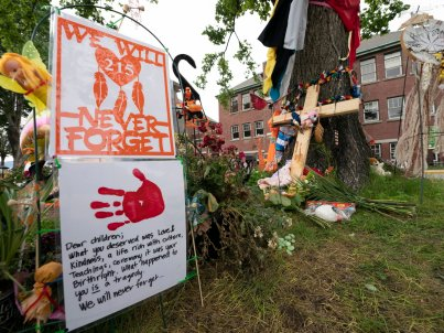 Canada's Government Needs to Face Up to Its Role in Indigenous Children's Deaths.