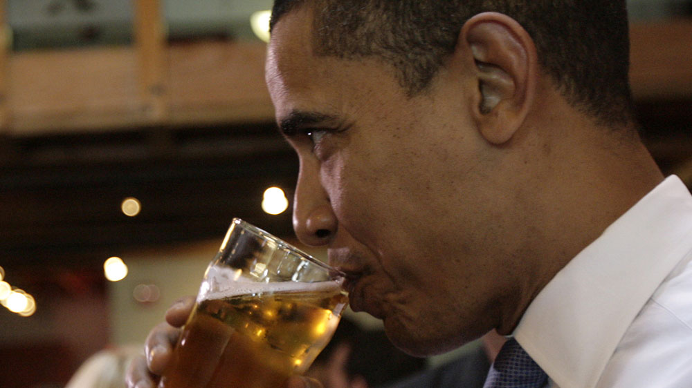 Obama Beer Summit Choices Make For A Happy Hour  NPR