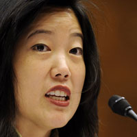 Michelle Rhee testifies before the House Education and Labor Committee.