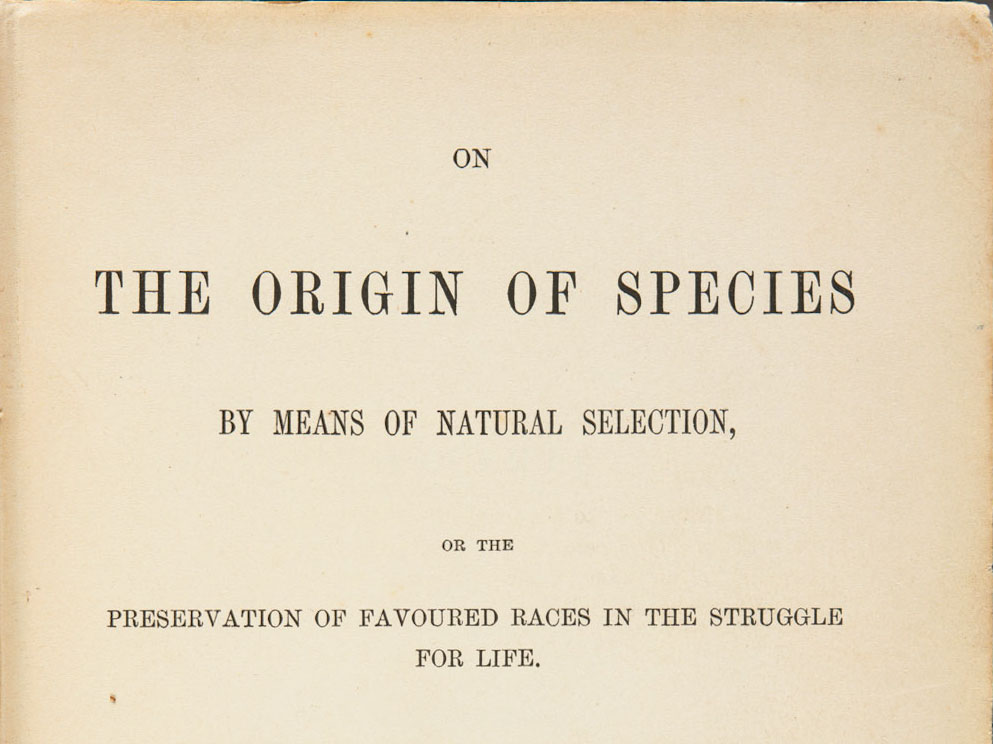 'On the Origin of Species' by Charles Darwin
