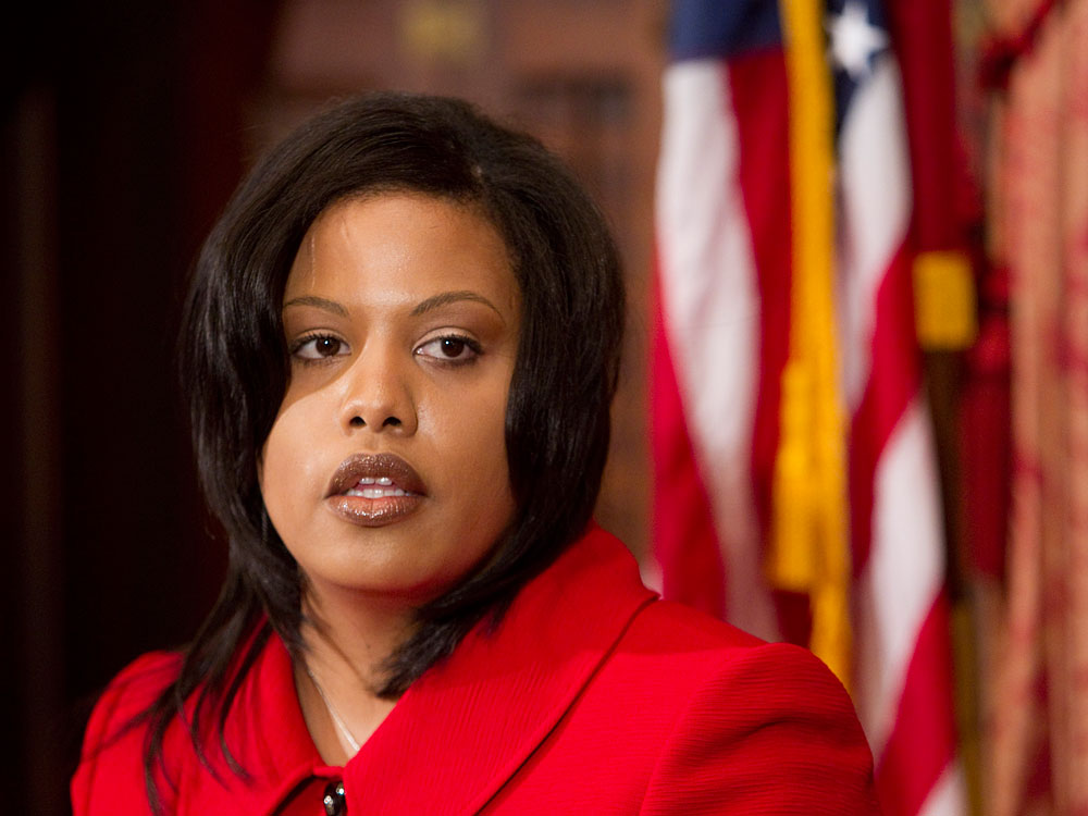Baltimore's new mayor, Stephanie Rawlings-Blake