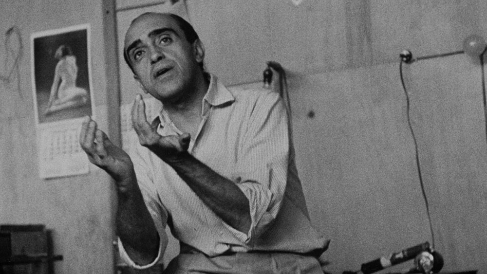 Architect Oscar Niemeyer in 1960
