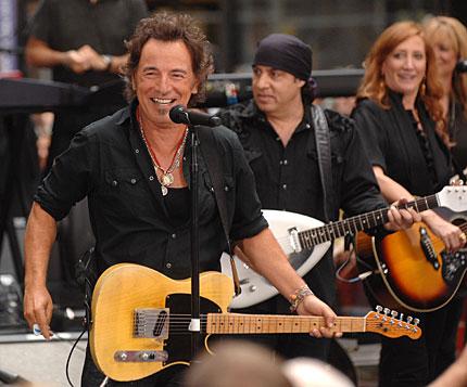 Bruce Springsteen, Steve Van Zandt, Patti Scialfa