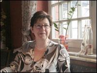 Hotel owner Brigitte Asshorn