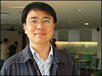 Tieyan Liu, a researcher in Internet search technology with Microsoft Research Asia in Beijing