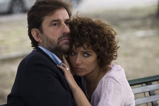 Valeria Golino as Marta and Nanni Moretti as Pietro in Quiet Chaos