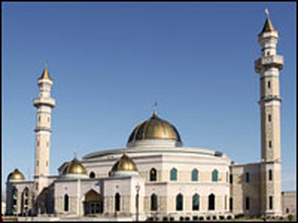 The new mosque