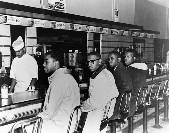 President Obama And The Lunch Counter In Greensboro