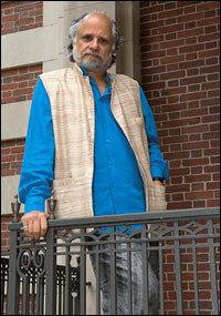 Harvard professor Homi Bhabha