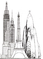 From the Past, a Futuristic Plan for WTC Site : NPR