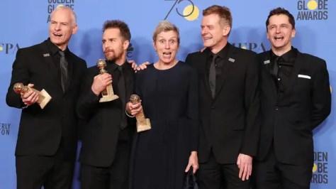 Three Billboards Outside Ebbing Missouri is de grote winnaar van de Golden Globes 2018