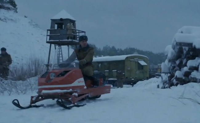 First Images Stranger Things 4 Show Russian Prison Camp