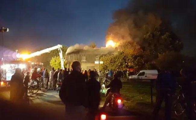 Vuurwerk Komt Tot Ontploffing In Brandend Huis Wezep Nu