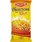 Calories in Osem Mini Croutons Soup quotMandelquot Rings 150g