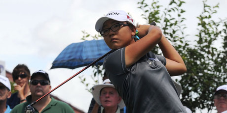 Lydia Ko became the first New Zealand amateur to make the cut at the women's US Open Championship. Photo / Getty Images.
