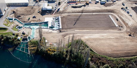 The new bioreactor facility at the Wairakei Power Station near Taupo. Photo / Jeremy Bright