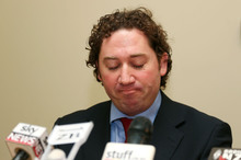 Aaron Gilmore's blunder hijacked National's media time. Photo / Getty Images