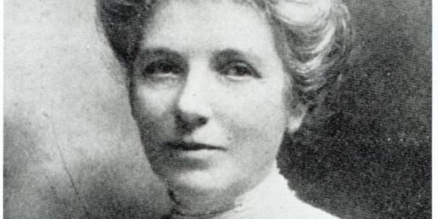 Suffragette Kate Sheppard.