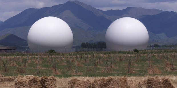 The Waihopai Valley Satellite Station. Photo / Mark Mitchell