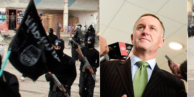 John Key has outlined NZ's response to the threat of Islamic State. Photo / AP, Herald file