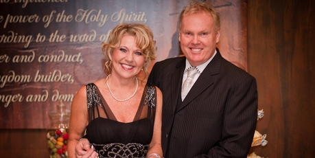 City Impact Church's Peter and Bev Mortlock present a weekly church-funded TV show.
