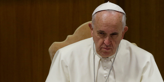 The Pope, any Pope, is a monarch. But he is also a sort of hostage. Photo / AP