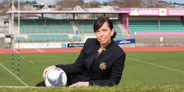 Bridget Belsham says she has put more pressure on herself to succeed as chief executive of Wanganui Rugby because she is a female in a male-dominated industry. Photo / Tracey Grant