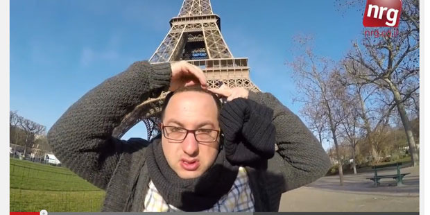 Journalist Zvika Klein walked the streets of Paris for ten hours wearing Jewish attire and filming the abuse he got.