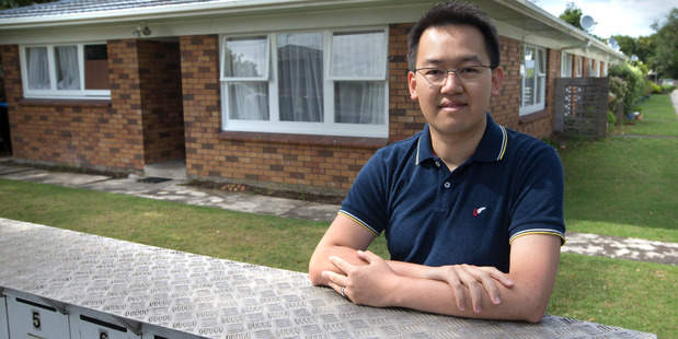 Civil engineer Gary Lin, 33, owns 11 rental properties in Auckland. Photo / File