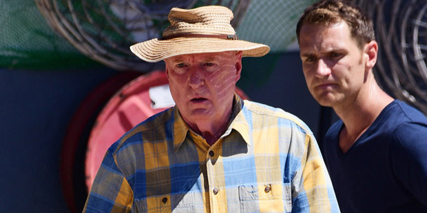 Ray Meagher's character Alf on Home and Away is famous for his signature Aussie one liners. Photo / Getty