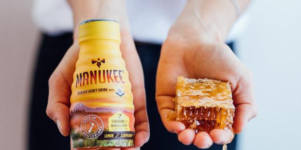 Manukee honey drink. Photo / Supplied